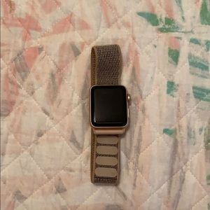 Series 3 Apple Watch 38mm Cellular&GPS (Rose Gold)